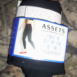 Assets By Spanx Ponte Shaping Leggings S
